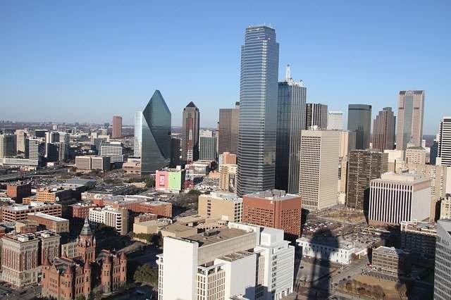 Dallas Skyline, TX, USA